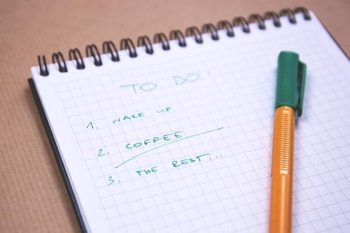 stress management tips to do list